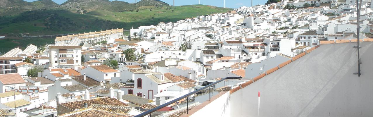 the whitewashed village of Ardales