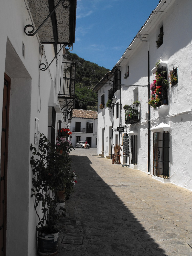 Street in Grazalema village